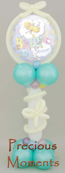 """Precious Moments' balloon display"