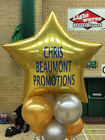 Personalised Gold Star Balloon