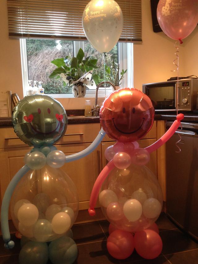 'Roxy' and 'Reggie' Balloon Characters.