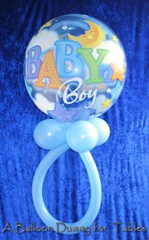 Balloon baby's dummy