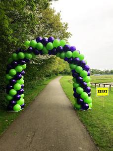 Start/Finish Balloon Arch