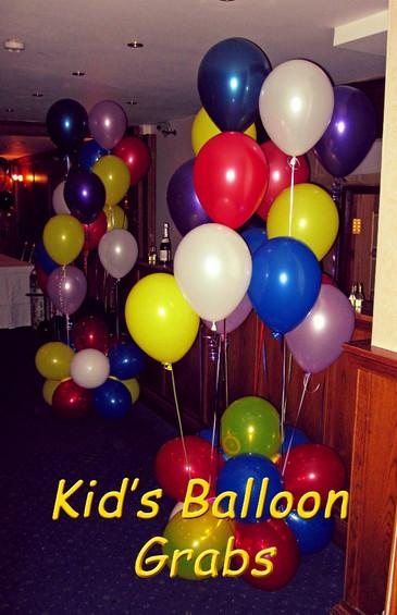 Kid's Balloon Grabs