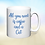 Thumbnail: 10oz 'Durham' mug with your pet's photo, and your choice of text.