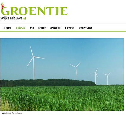 Vergunning voor windmolens Goyerbrug mogelijk in strijd met Europese regels