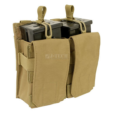 QUICK RELEASE G36 DOUBLE RIFLE MAGAZINE POUCH 2X2