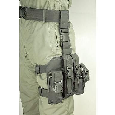 9mm LEG MEGAZINE & 40CAL. FLASH GRENADE POUCH