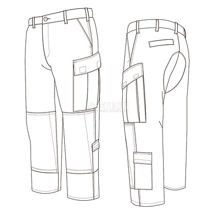TACTICAL A.C.U. UNIFORM-PANTS-