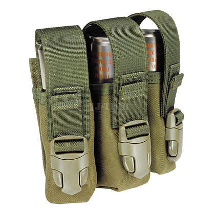 LBV-IV ADJUSTABLE 40mm GRENADE POUCHES-1x3