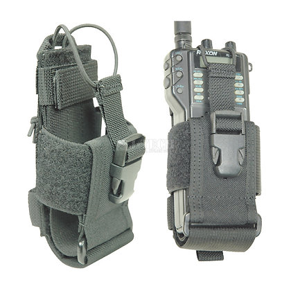 TAC ADJUSTABLE RADIO POUCH / with belt loop