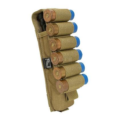 C.A.V. 6RD SHOTGUN POUCH / NBS & FLASHLIGHT