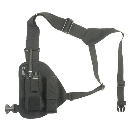 ADJUSTABLE RADIO CHEST HARNESS