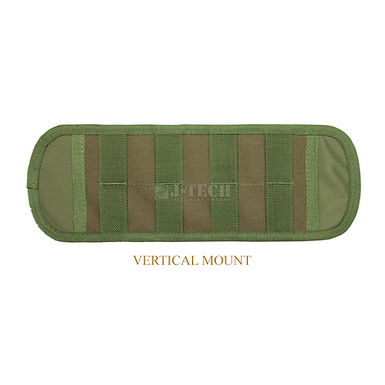 """DOUBLE-SIDED MOLLE ADAPTER PLATE 18 """" WITH BELT LOOP"""
