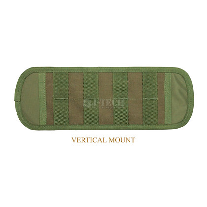 "DOUBLE-SIDED MOLLE ADAPTER PLATE 18 "" WITH BELT LOOP"