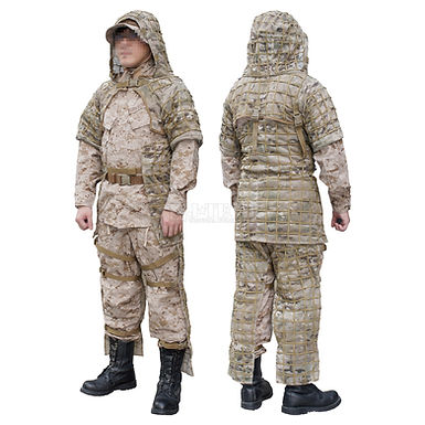 SNIPER MESH CAMOUFLAGE CLOTHES / PANTS