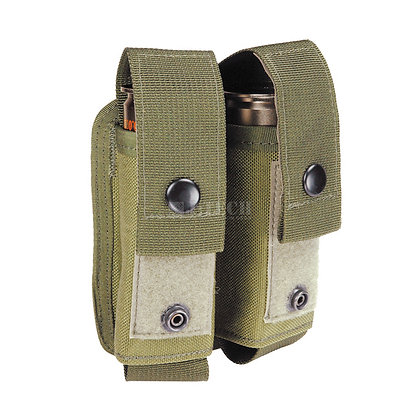 ADJUSTABLE DOUBLE GRENADE  POUCHES / NBS-1x2
