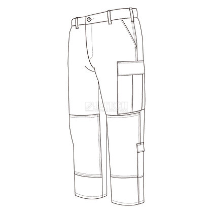 TACTICAL B.D.U. UNIFORM-PANTS-