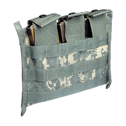 MOLLE TRIPLE MAGAZINE POUCHES-1X3