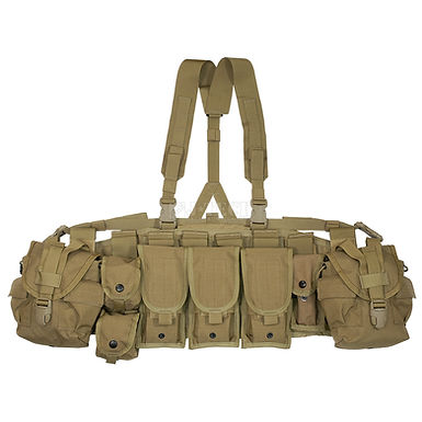 US ARMY TACTICAL CHEST RIG (FULL SET)