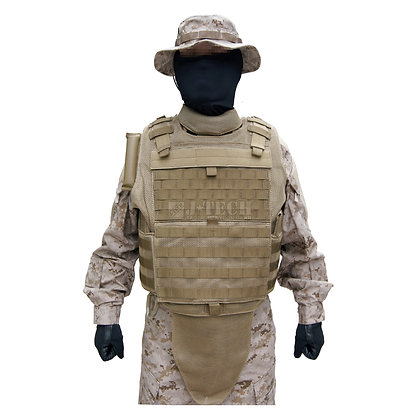 MODULAR MESH TACTICAL VEST, MTV BODY ARMOR OUTER SHELL