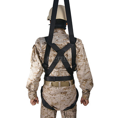 TORSO HARNESS FOR EXTRACTION ROPE