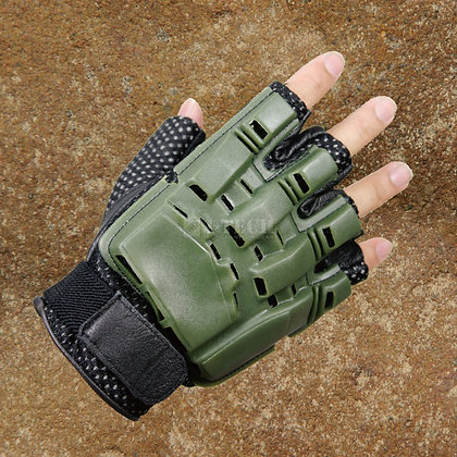 TACTICAL COMBAT GLOVES-HALF-