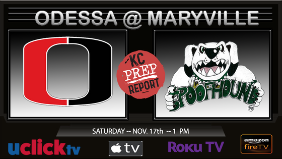 Watch Class 3 State Quarter Final Odessa @ Maryville