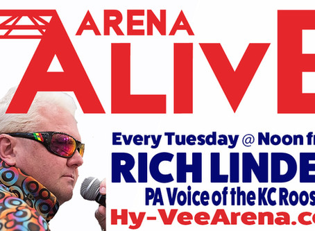 Arena Alive Podcast from Hy-Vee Arena with PA Voice of the KC Roos