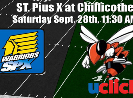 Football St. Pius X @ Chillicothe