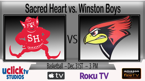 Sacred Heart vs. Winston Boys at NCMC Holiday Hoops