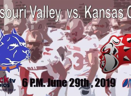 Missouri Valley Pitbulls at KC Bulldogs