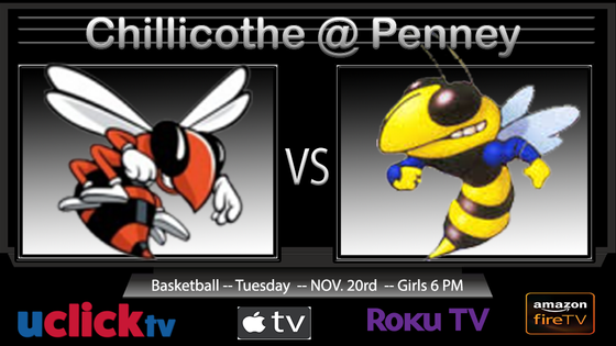 WATCH GIRLS BASKETBALL CHILLICOTHE @ PENNEY/HAMILTON