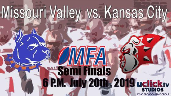 MFA 2019 Semi Finals Missouri Valley Pitbulls @ Kansas city Bulldogs