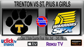 Girls Class 3 State Quarter Final will be a GRC vs MEC Match up