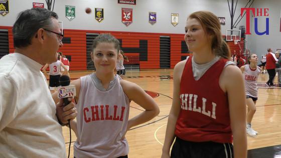 Preseason Interviews With CHS Hornets Coach Smith Plus Sr's Kennedie Kieffer & Catey Trout