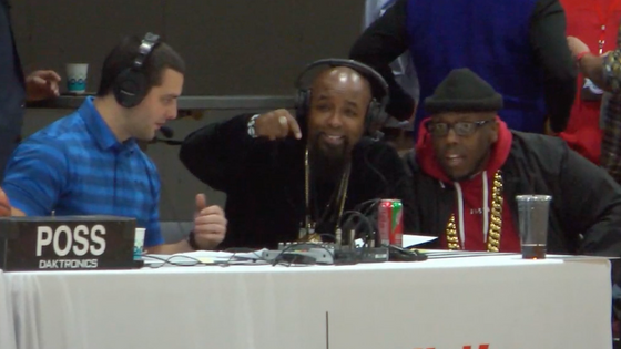 Tech N9ne Make a Special Appearance on #TheU Uclicktv