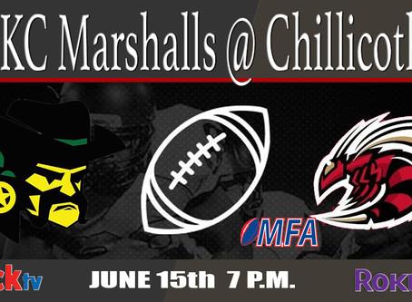 KC Marshalls @ Chillicothe Swarm