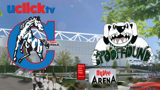 Girls Basketball Maryville vs California @ HyVee Arena