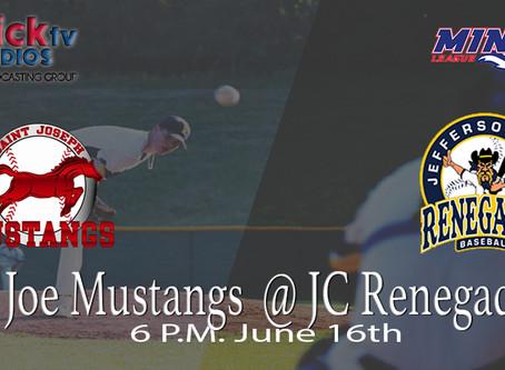 St. Joseph Mustangs @ Jeff City Renegades