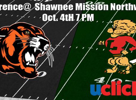 Football Lawrence @ Shawnee Mission Northwest