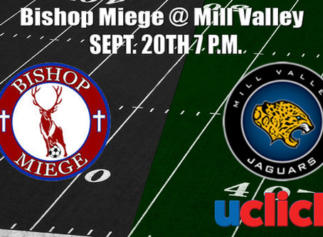 Football Bishop Miege  @  Mill Valley