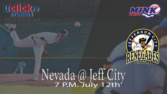 Jeff CityRenegades v Nevada Griffon