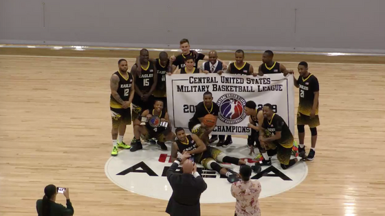 Fort Campbell Screaming Eagles WIN Central US Military Basketball League Tournament