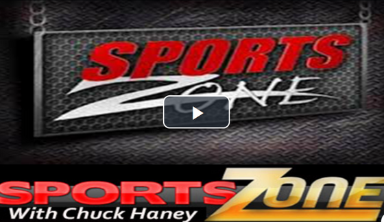 Watch the Sports Zone with Chuck Haney Guest are Hornets Soccer, Football, Softball, Tennis and Cros