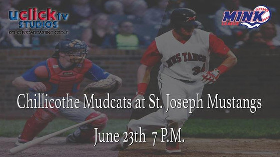 MINK League divisional game in St. Joe Chillicothe Mudcats St. Joe Mustangs