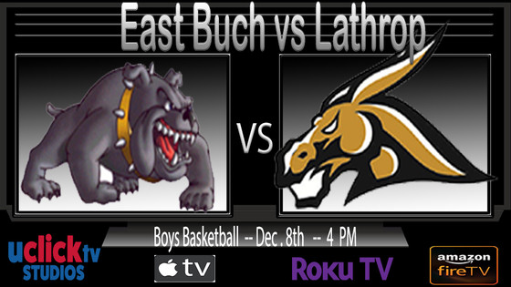 Catch the KCI Boys Championship Game Live on #THEU @UclickTV Lathrop vs East Buch