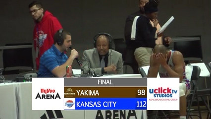 Kansas City Tornadoes Post game interview with a very happy Coach Ed Corporal