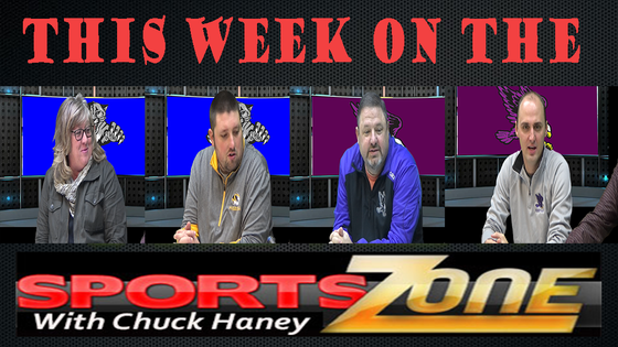 WATCH: SPORTS ZONE WITH CHUCK HANEY