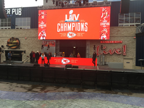 Kansas City celebrates Super Bowl win with Champions Parade Press Conference