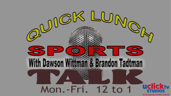 QUICK LUNCH TALK SHOW WITH BRANDON TADTMAN & DAWSON WITTMAN