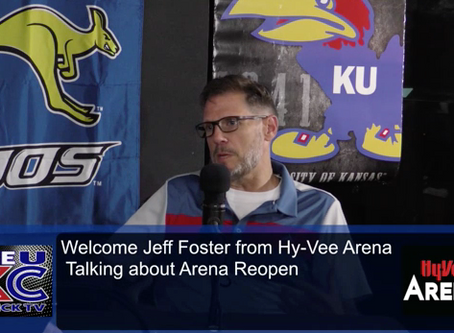 Midwest Mic's Live at 11 June 26 Guest Jeff Foster of Hy-Vee Arena